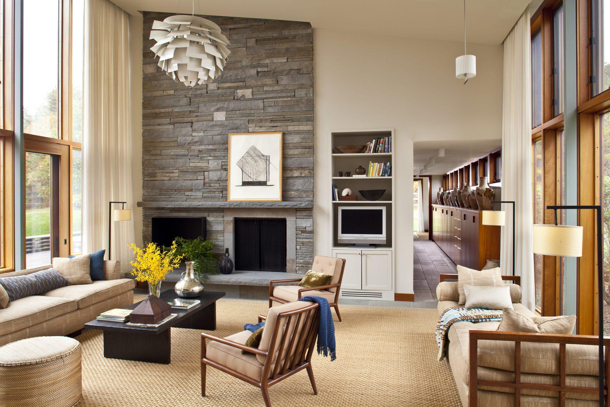 Cùng chiêm ngưỡng vẻ đẹp khó cưỡng của những căn phòng khách mang phong cách đương đại - Ảnh 3.
