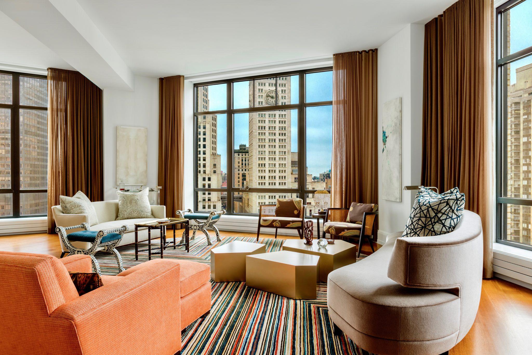 Cùng chiêm ngưỡng vẻ đẹp khó cưỡng của những căn phòng khách mang phong cách đương đại - Ảnh 9.