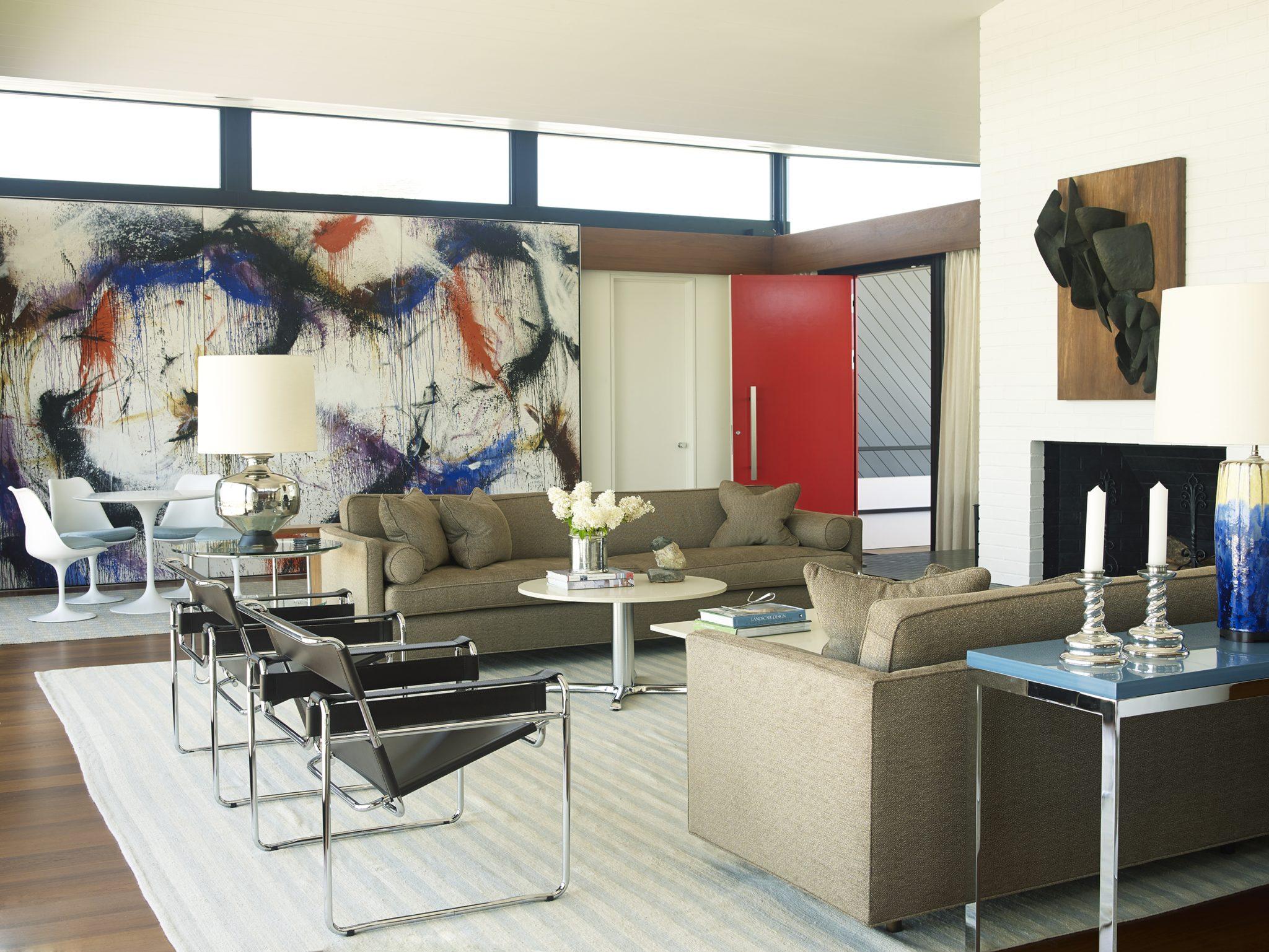 Cùng chiêm ngưỡng vẻ đẹp khó cưỡng của những căn phòng khách mang phong cách đương đại - Ảnh 13.