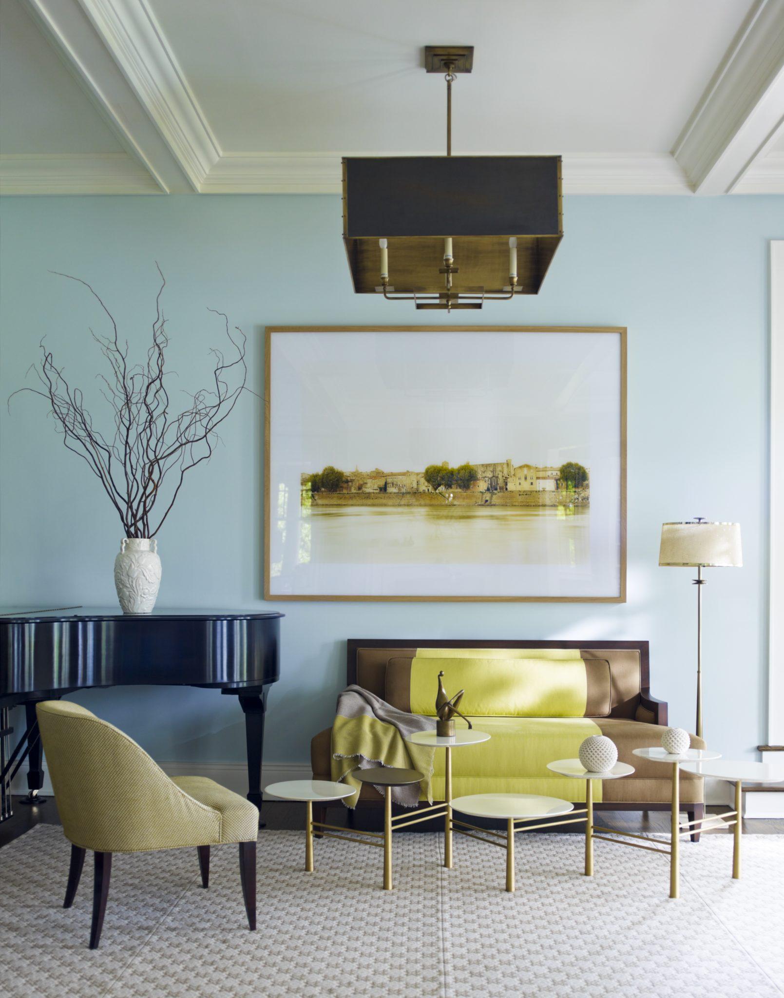 Cùng chiêm ngưỡng vẻ đẹp khó cưỡng của những căn phòng khách mang phong cách đương đại - Ảnh 1.