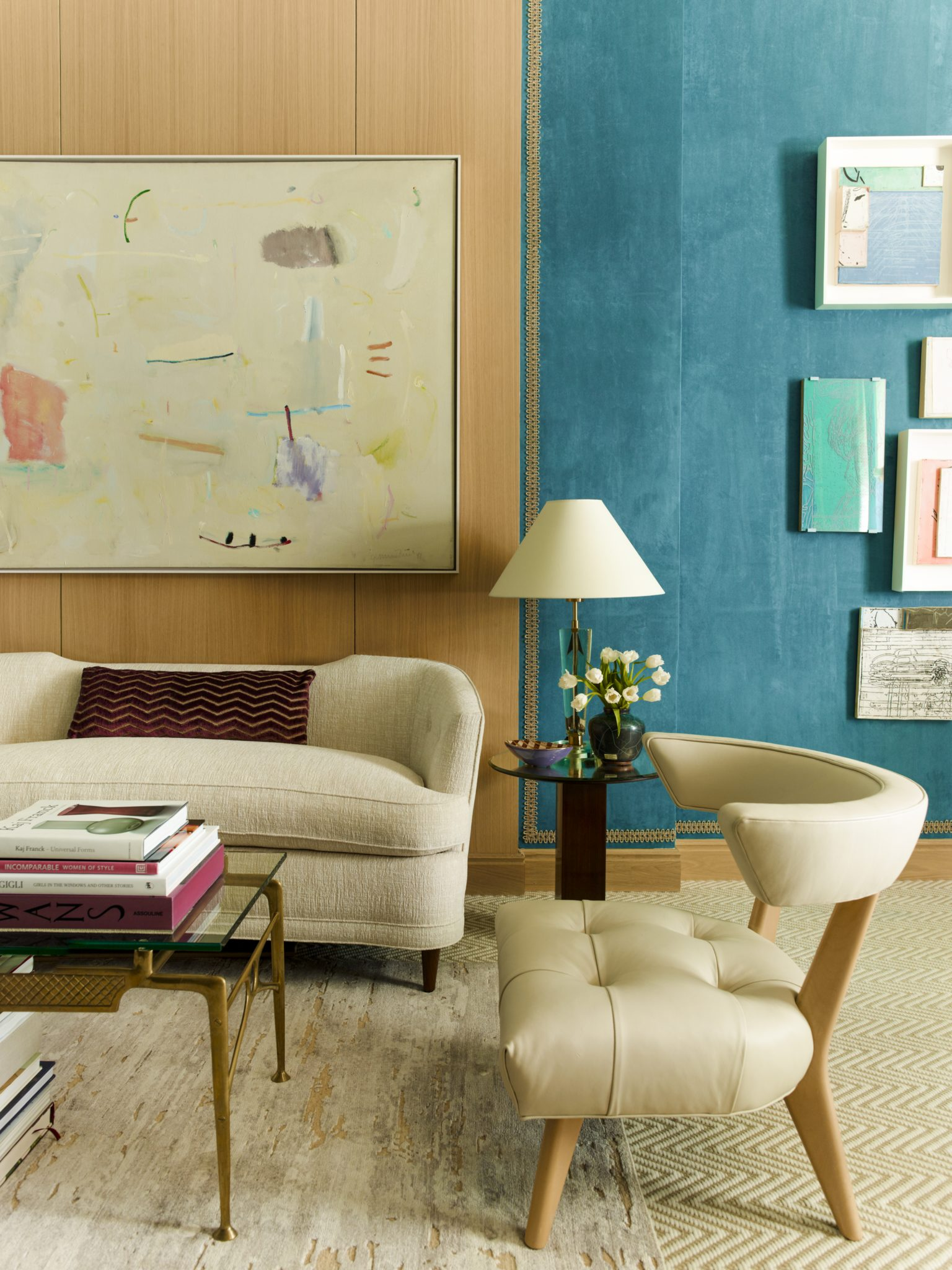 Cùng chiêm ngưỡng vẻ đẹp khó cưỡng của những căn phòng khách mang phong cách đương đại - Ảnh 4.