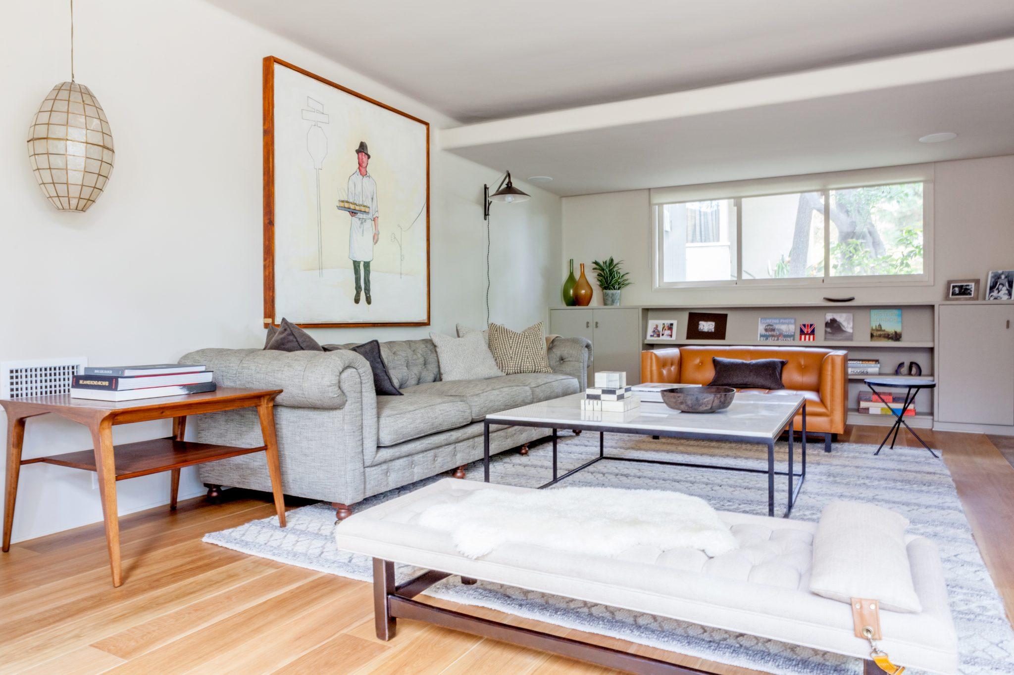 Cùng chiêm ngưỡng vẻ đẹp khó cưỡng của những căn phòng khách mang phong cách đương đại - Ảnh 7.