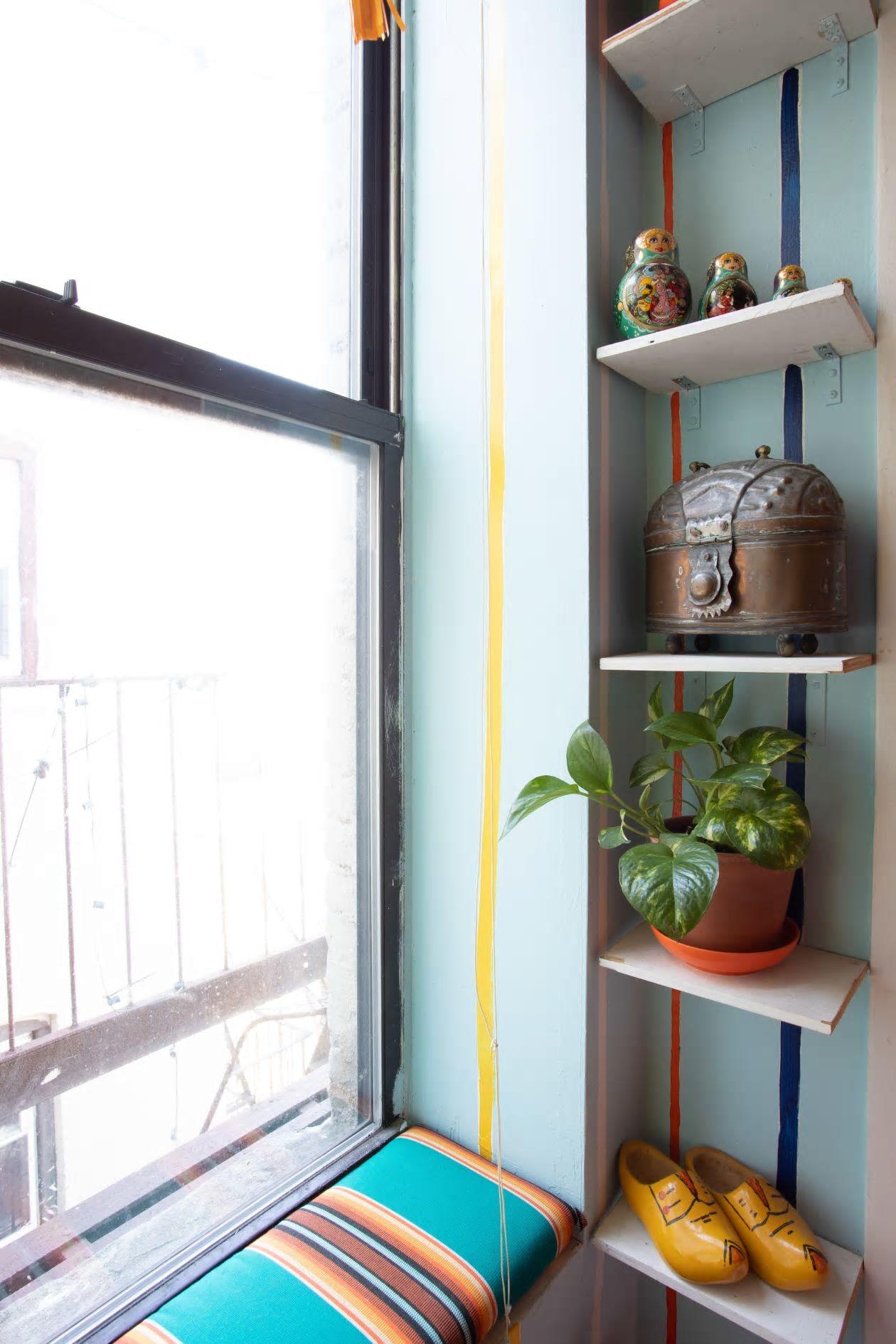 Căn hộ nhỏ 37m2 ở Brooklyn sử dụng những màu sắc đáng kinh ngạc trong trang trí nội thất - Ảnh 9.