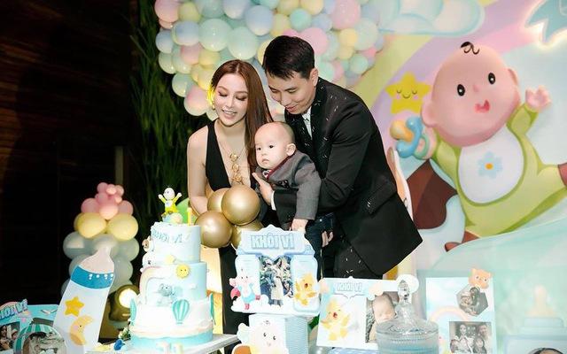 Huyền Baby đón lễ kỉ niệm 7 năm ngày cưới, tuy ai cũng biết ông xã cô nhưng hot mom 8X vẫn nhất quyết giấu mặt chồng - Ảnh 6.