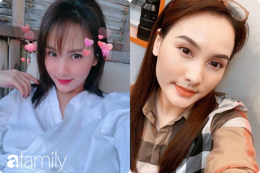 30 tuổi mới thử nghiệm tóc mái lưa thưa, Bảo Thanh được khen trẻ xinh như hot girl dù con trai đã lớn đùng - Ảnh 5.