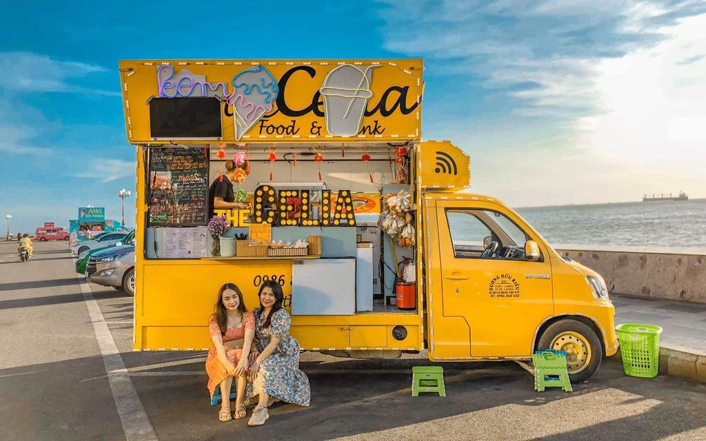 Đang rất hot gần đây: Dân tình thi nhau khoe check-in trên đường xe kem đẹp như trời Tây ở Vũng Tàu
