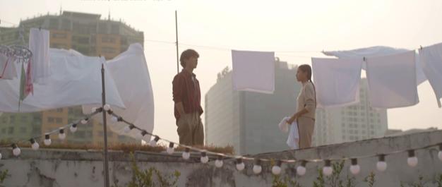 Nhà trọ Balanha tập 2: Cười té ghế cảnh Lâm gặp người yêu cũ khi đang bị... tào tháo đuổi - Ảnh 11.