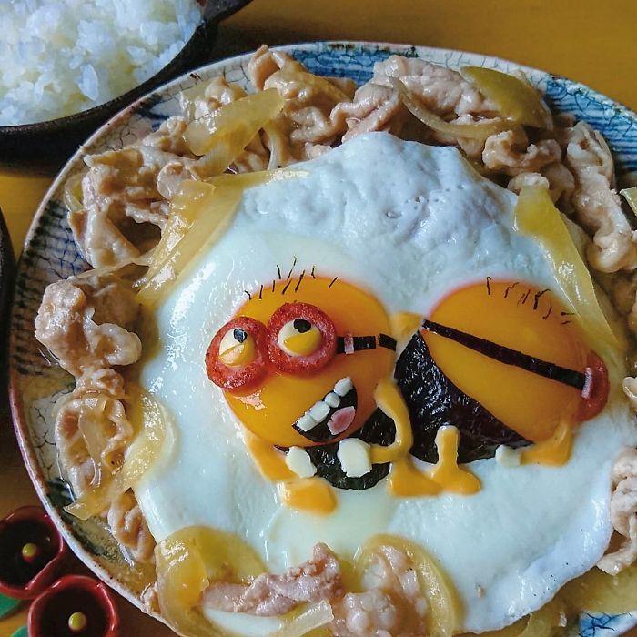 Hot mom 3 con Nhật Bản được các bà mẹ khắp thế giới ngưỡng mộ vì tài biến hóa đồ ăn từ trứng, làm bento hấp dẫn đến mức lên cả trang bìa Vogue - Ảnh 6.