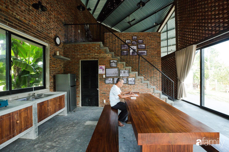 Độc lạ với ngôi nhà hình cánh diều của con cái chung tay góp 350 triệu đồng xây tặng bố mẹ ở ngoại ô TP Đà Nẵng - Ảnh 5.