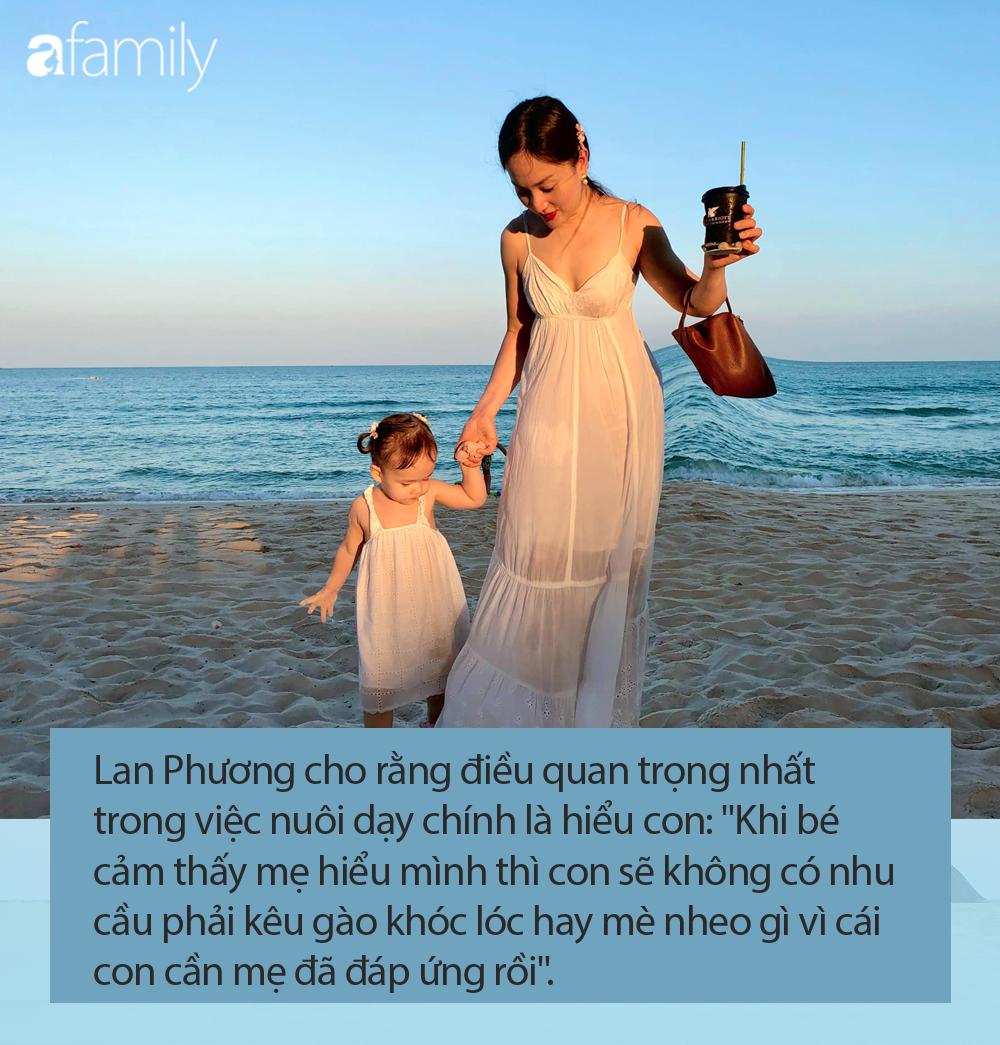 Con gái 21 tháng biết xếp bảng chữ cái, đếm số, đánh đàn, Lan Phương tiết lộ quy tắc dạy con mẹ nào cũng khen ngợi - Ảnh 7.