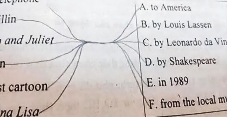 Cười bò với loạt câu trả lời khó đỡ trong bài kiểm tra của học sinh, có câu vô lý đến mức giáo viên đành ôm đầu bất lực - Ảnh 6.