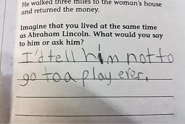 Cười bò với loạt câu trả lời khó đỡ trong bài kiểm tra của học sinh, có câu vô lý đến mức giáo viên đành ôm đầu bất lực - Ảnh 11.