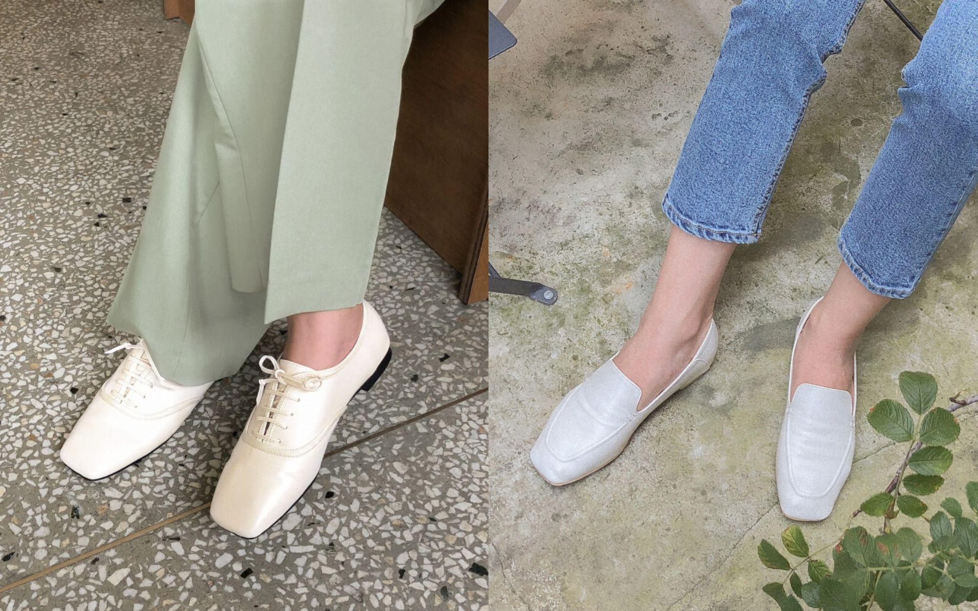 Tạm quên giày nâu đen đi, muôn kiểu giày trắng mới thực sự