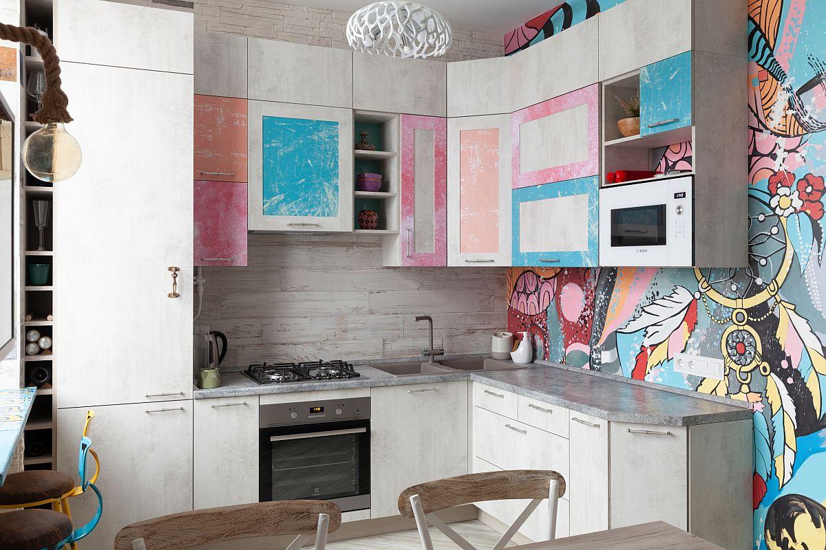 Ngắm những căn bếp nhỏ đầy màu sắc, đẹp đến mức làm xiêu lòng bất cứ ai - Ảnh 3.