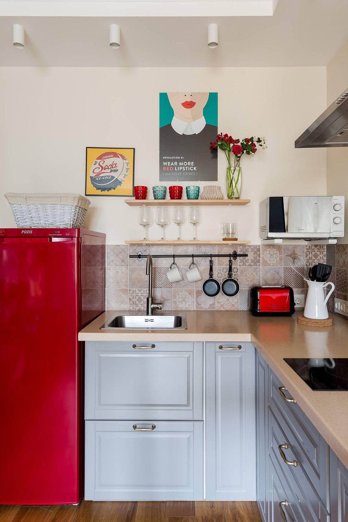 Ngắm những căn bếp nhỏ đầy màu sắc, đẹp đến mức làm xiêu lòng bất cứ ai - Ảnh 5.