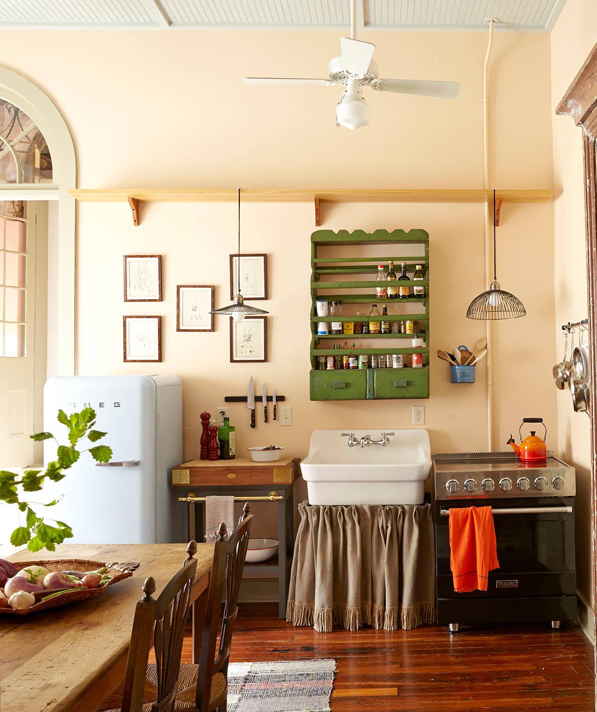Ngắm những căn bếp nhỏ đầy màu sắc, đẹp đến mức làm xiêu lòng bất cứ ai - Ảnh 7.