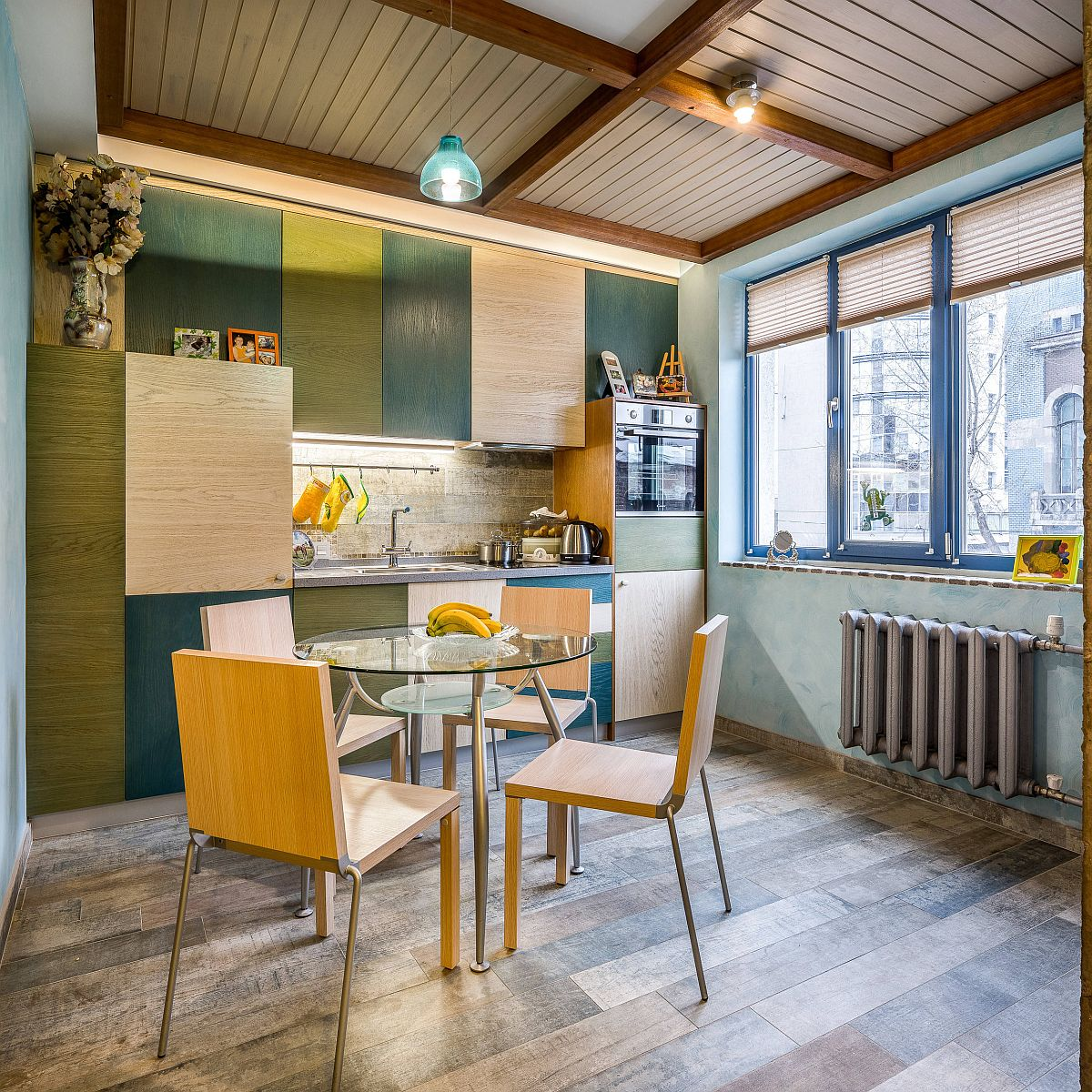 Ngắm những căn bếp nhỏ đầy màu sắc, đẹp đến mức làm xiêu lòng bất cứ ai - Ảnh 8.