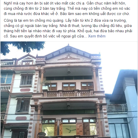 """Biết chồng mua nhà 4 tầng đón bồ về ở cho tiện """"vụng trộm"""", vợ lặng yên như không mà vẫn khiến 2 kẻ phản bội sợ tím tái mặt mày với màn đánh ghen không """"tiếng động"""" - Ảnh 1."""