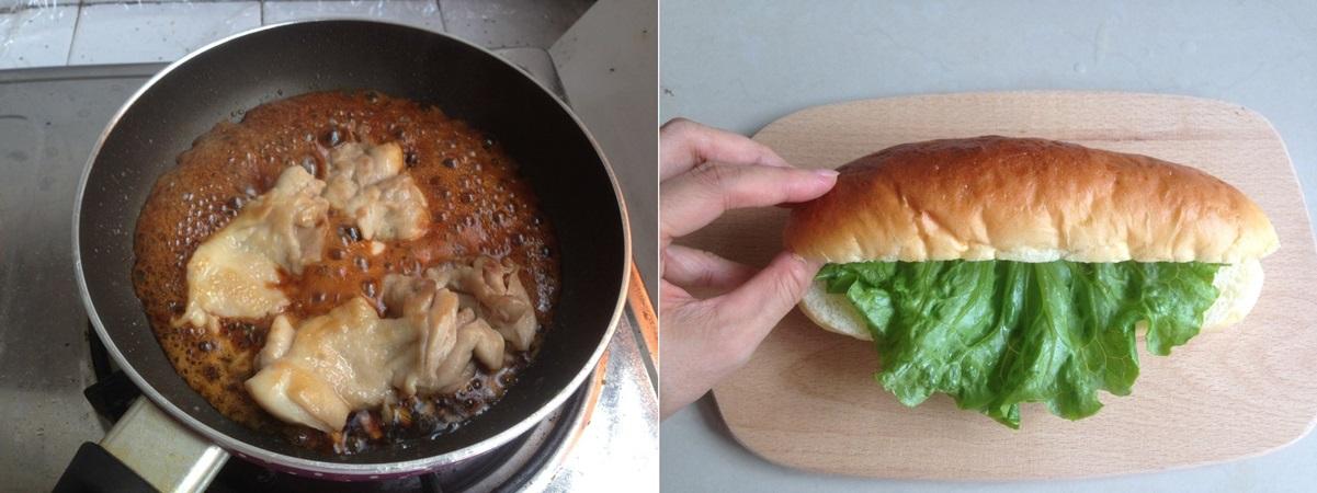 Bữa trưa văn phòng với bánh mì kẹp gà chuẩn ngon - Ảnh 3.