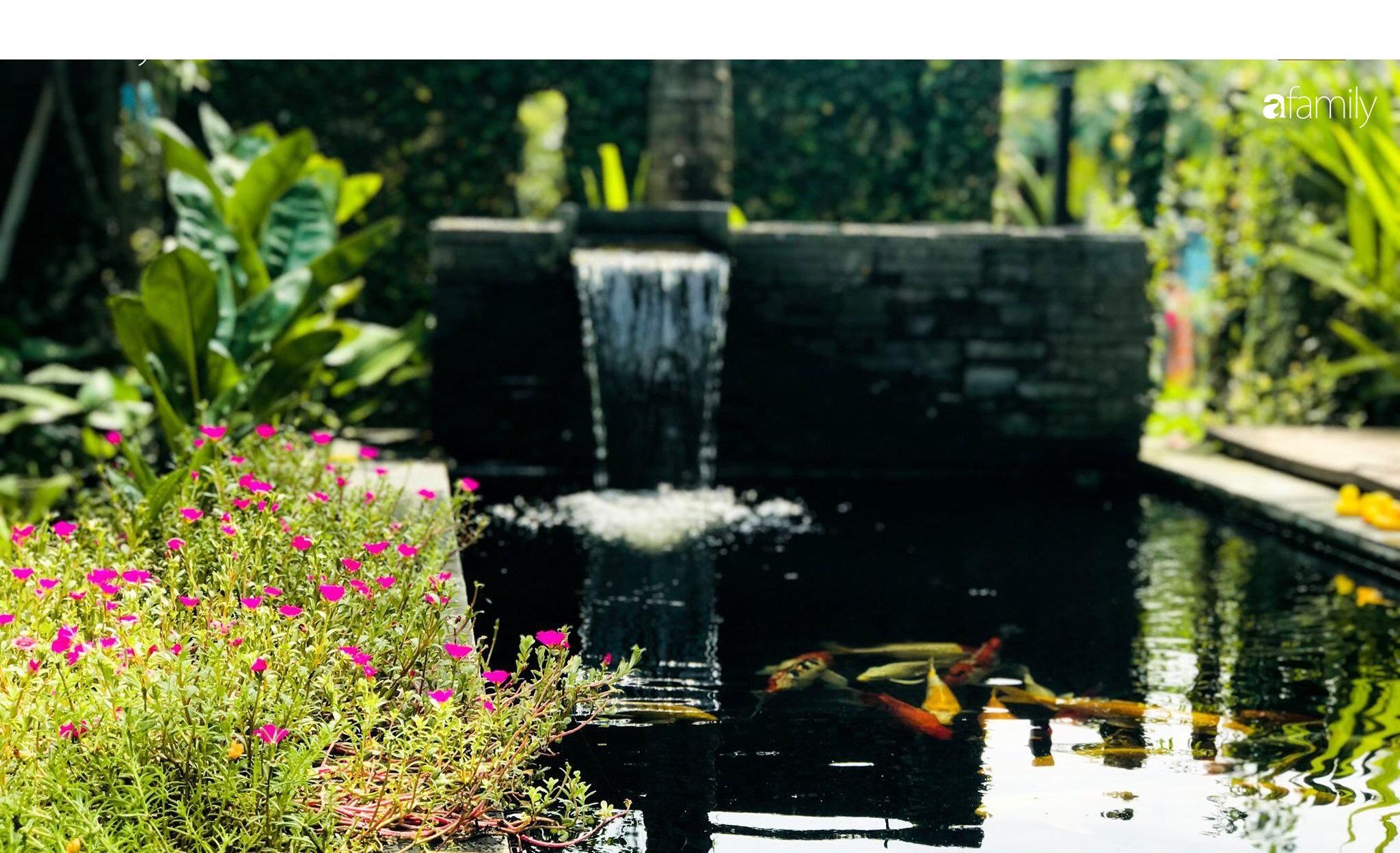 Chàng sinh viên kiến trúc tự decor vườn 200m² với cây xanh và ao cá cho gia đình 4 thế hệ ở ngoại ô Đà Nẵng - Ảnh 12.