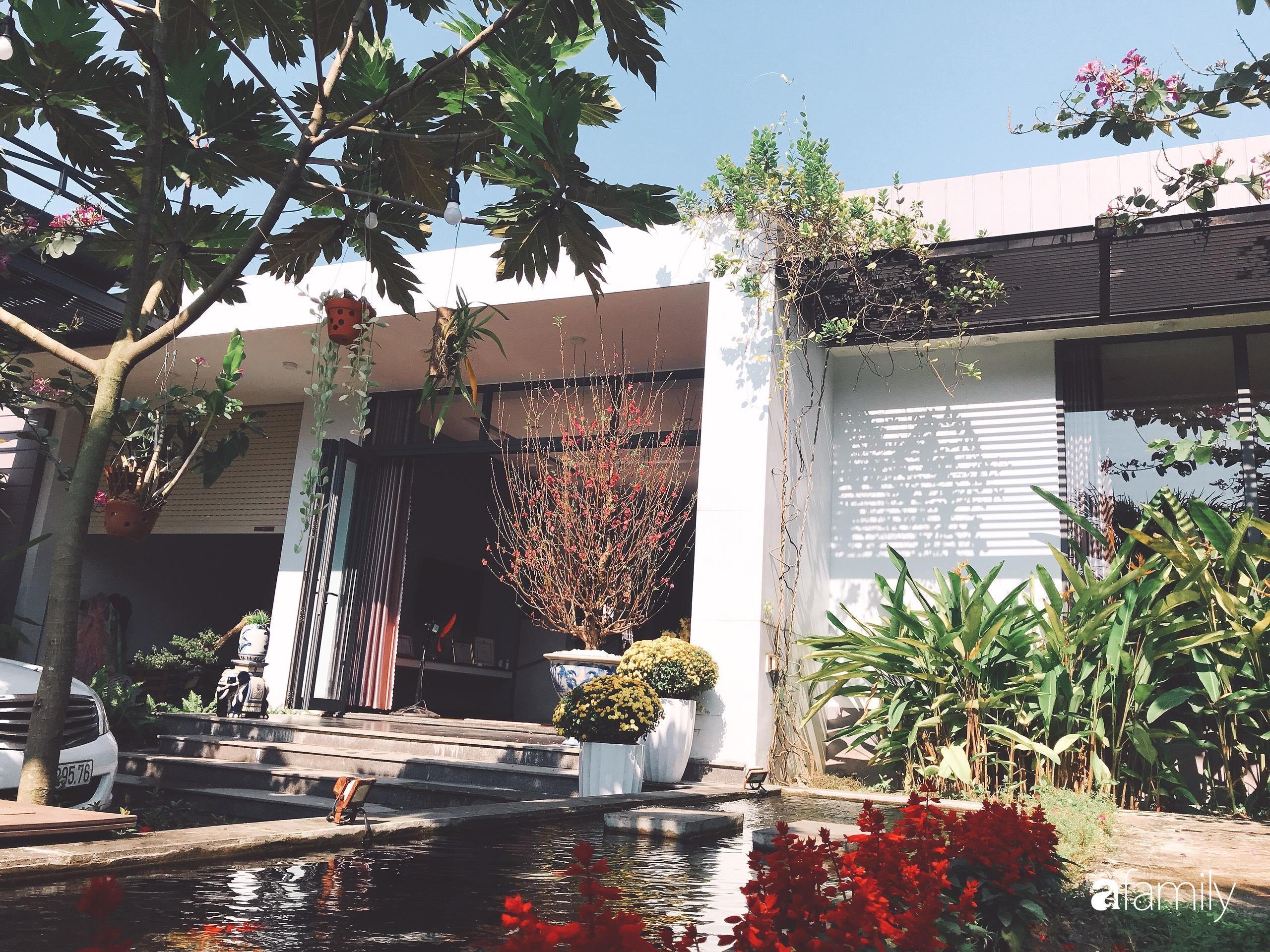 Chàng sinh viên kiến trúc tự decor vườn 200m² với cây xanh và ao cá cho gia đình 4 thế hệ ở ngoại ô Đà Nẵng - Ảnh 2.