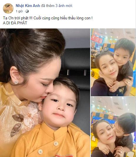 Sau chuỗi ngày van xin, tố cáo chồng cũ, Nhật Kim Anh chính thức thắng kiện và giành quyền nuôi con - Ảnh 2.
