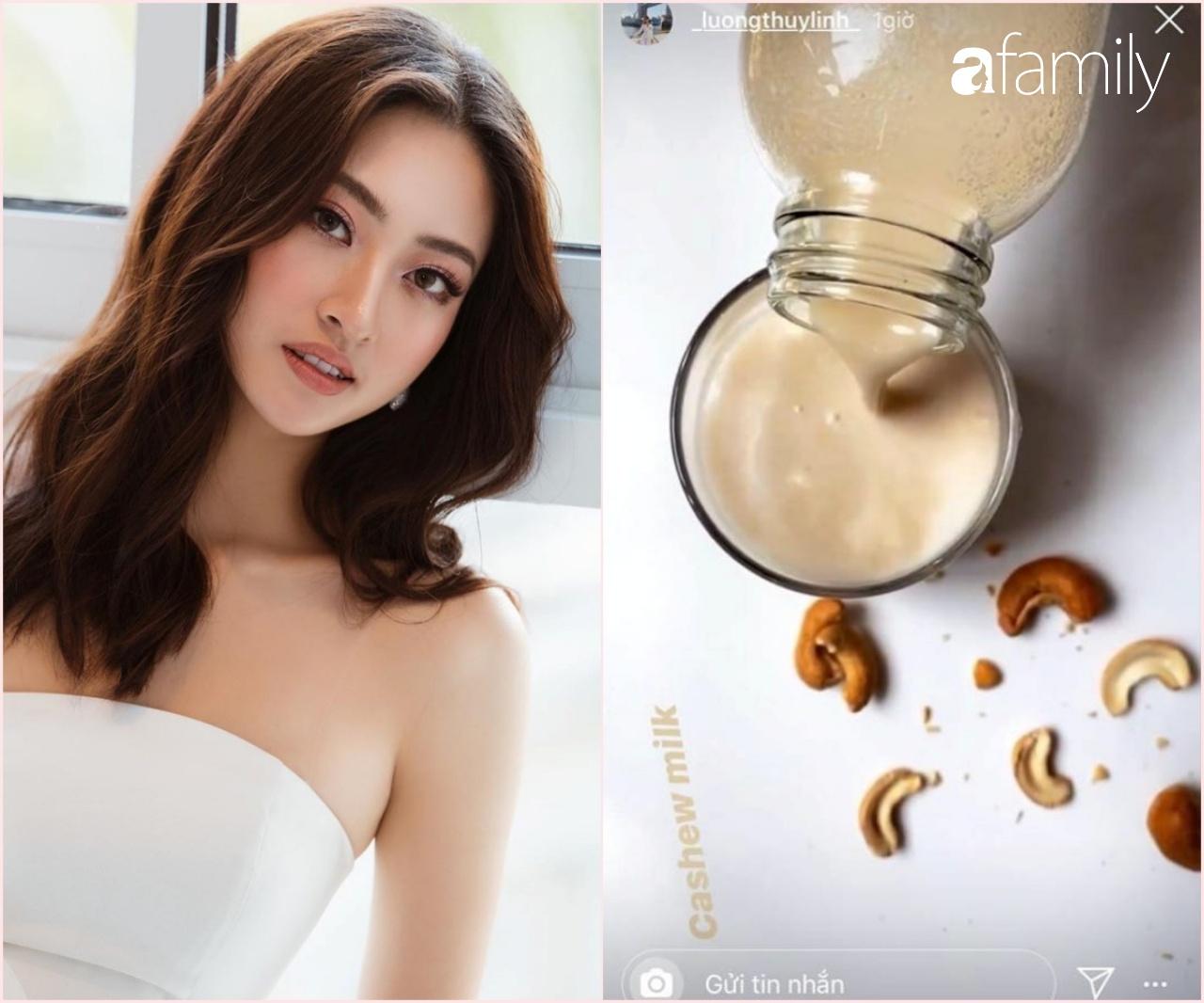 Hà Tăng mê sữa hạnh nhân, HH Lương Thùy Linh nhờ cậy đến sữa hạt điều để giữ body không mỡ thừa khiến ai cũng trầm trồ - Ảnh 2.