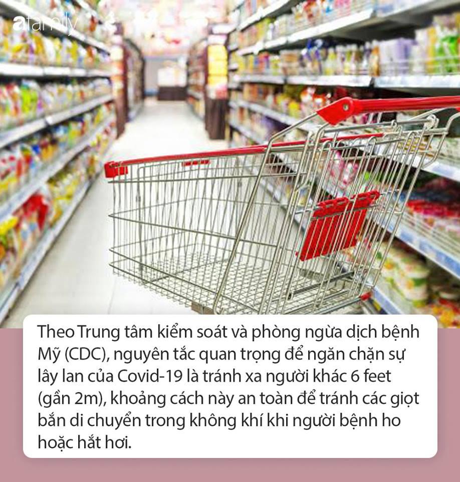 Đi siêu thị trong mùa dịch Covid-19 bạn nhất định phải nắm được những nguyên tắc quan trọng này để bảo vệ sức khỏe - Ảnh 4.