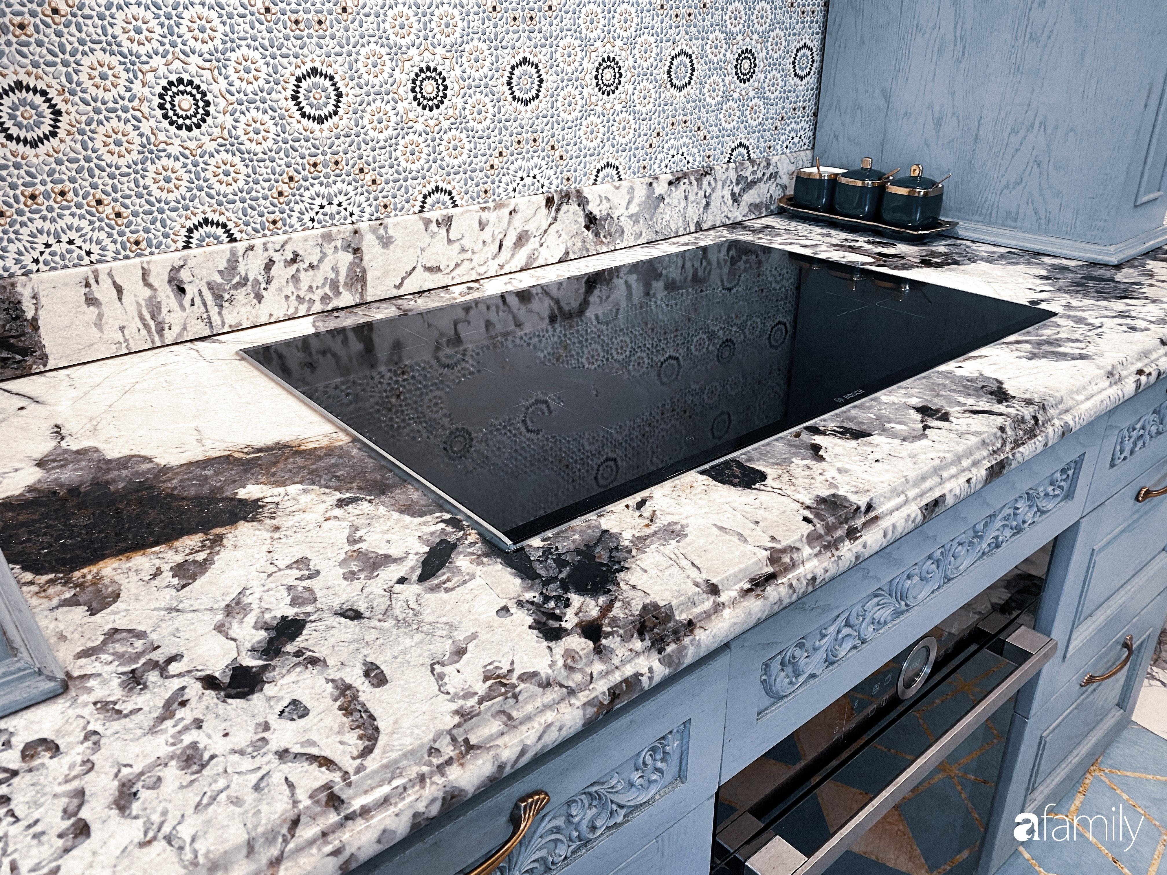 """""""Nghiện"""" sắm đồ bếp, hot mom Thủy Anh vợ Đăng Khôi tự decor không gian nấu nướng đẹp sang chảnh ngút ngàn - Ảnh 11."""