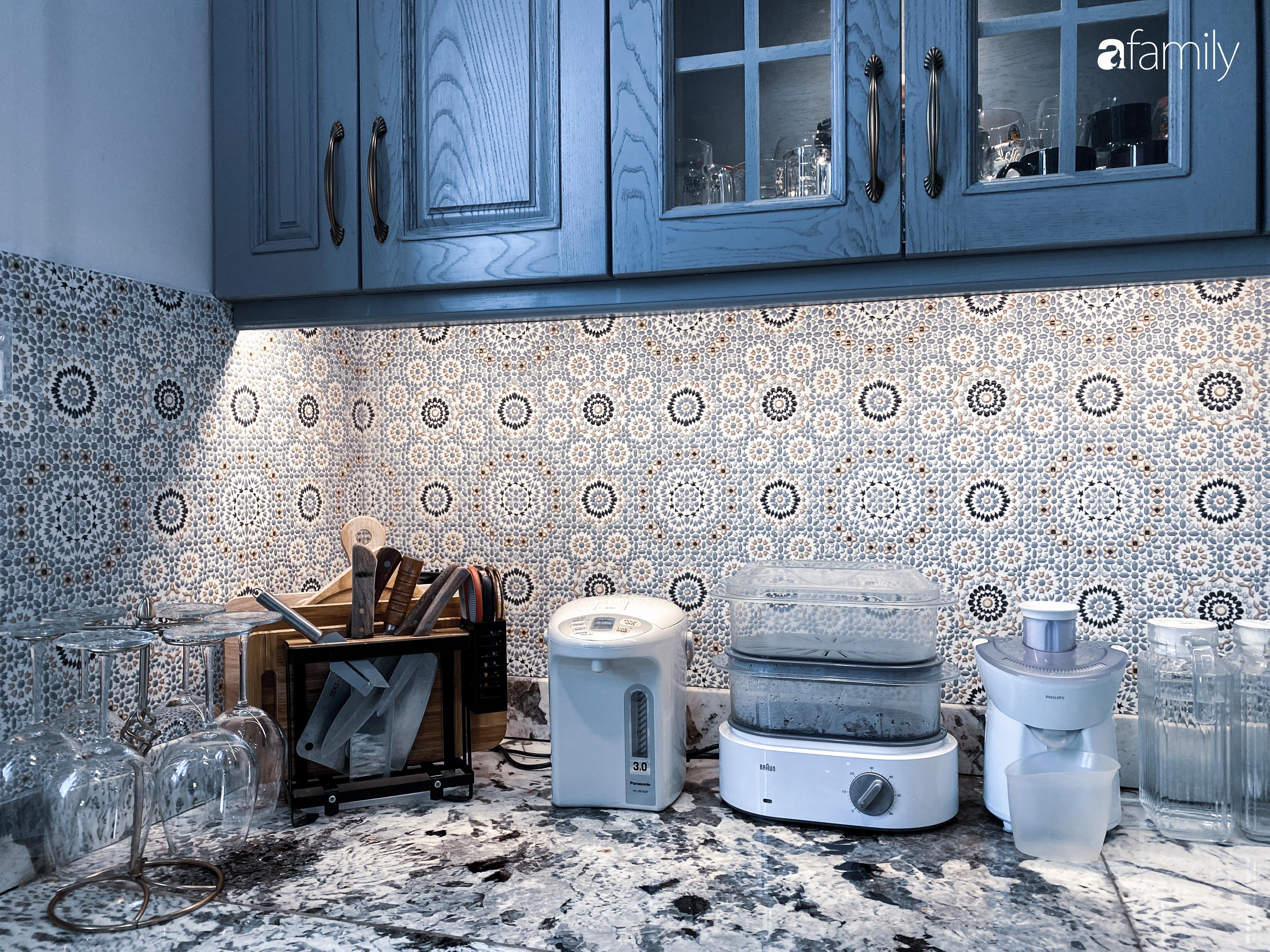 """""""Nghiện"""" sắm đồ bếp, hot mom Thủy Anh vợ Đăng Khôi tự decor không gian nấu nướng đẹp sang chảnh ngút ngàn - Ảnh 10."""