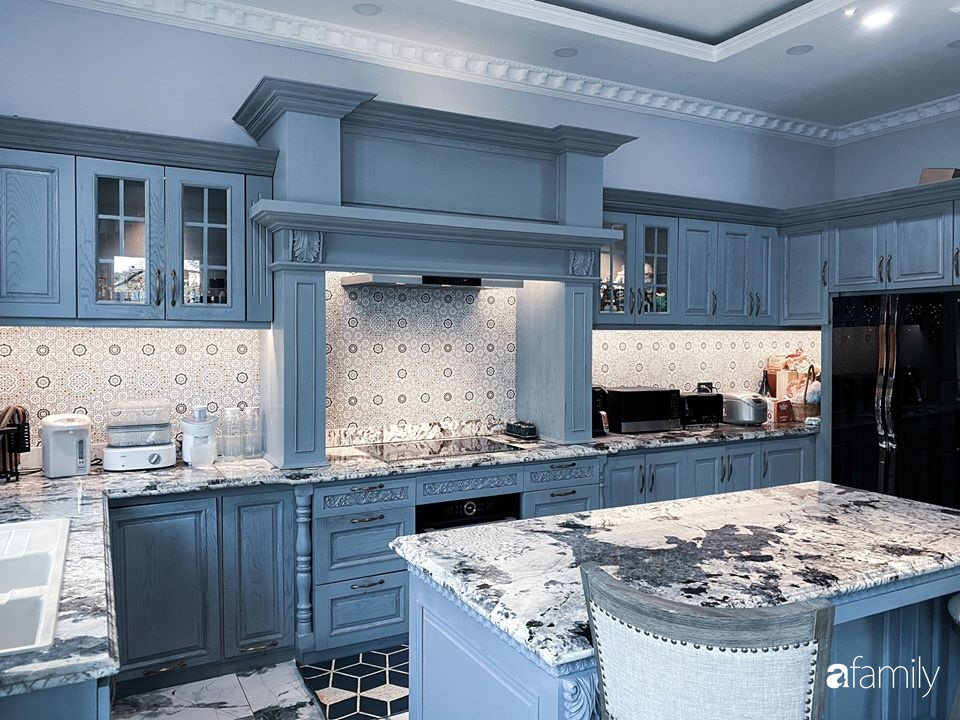 """""""Nghiện"""" sắm đồ bếp, hot mom Thủy Anh vợ Đăng Khôi tự decor không gian nấu nướng đẹp ngút ngàn - Ảnh 4."""