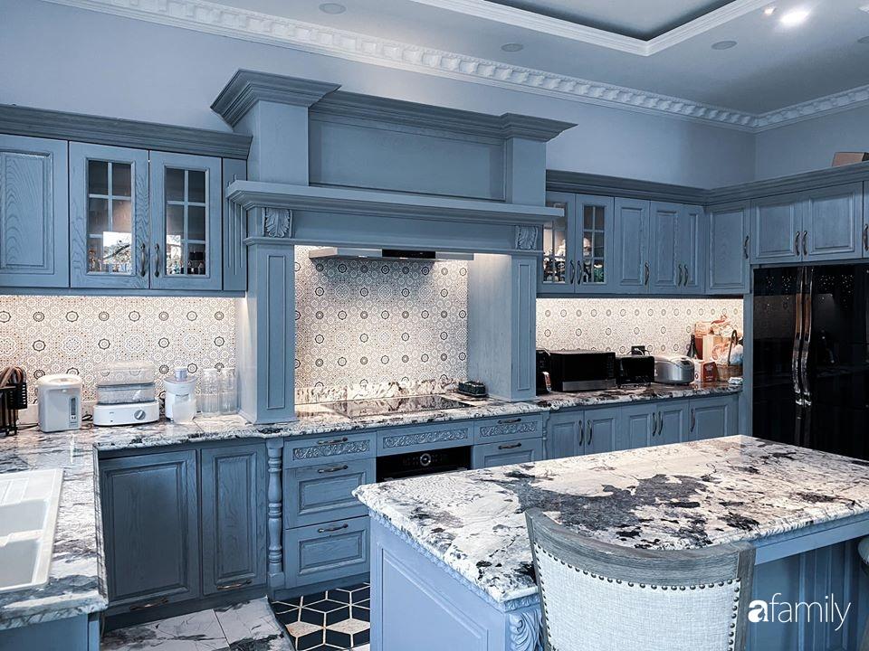 """""""Nghiện"""" sắm đồ bếp, hot mom Thủy Anh vợ Đăng Khôi tự decor không gian nấu nướng đẹp sang chảnh ngút ngàn - Ảnh 19."""