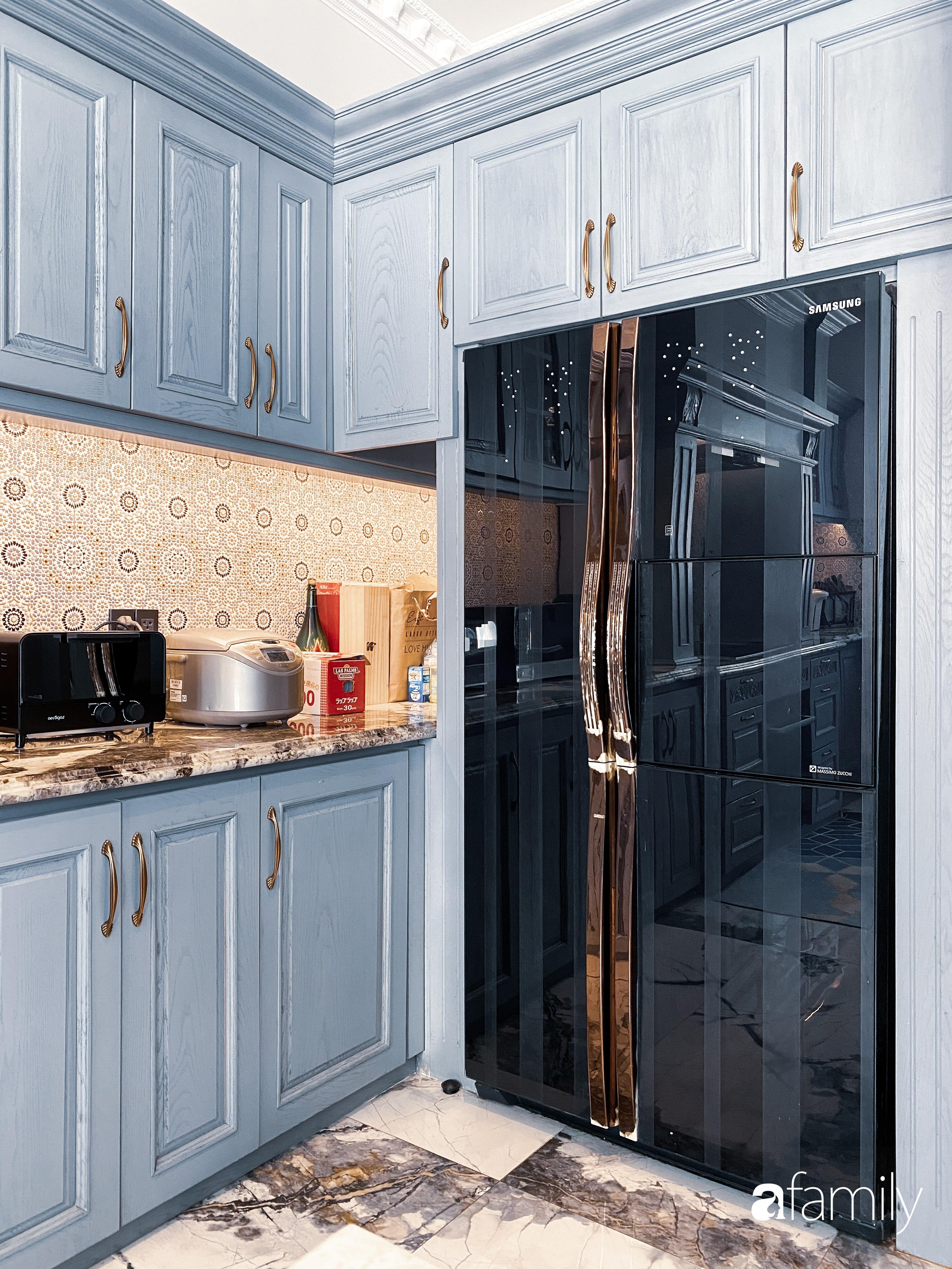 """""""Nghiện"""" sắm đồ bếp, hot mom Thủy Anh vợ Đăng Khôi tự decor không gian nấu nướng đẹp sang chảnh ngút ngàn - Ảnh 7."""
