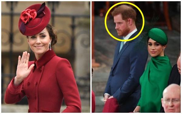"""Tiết lộ cuộc nói chuyện riêng kìm nén nước mắt giữa Công nương Kate với em chồng Harry trong """"buổi chia tay"""", Meghan Markle không hề được nhắc đến - Ảnh 1."""