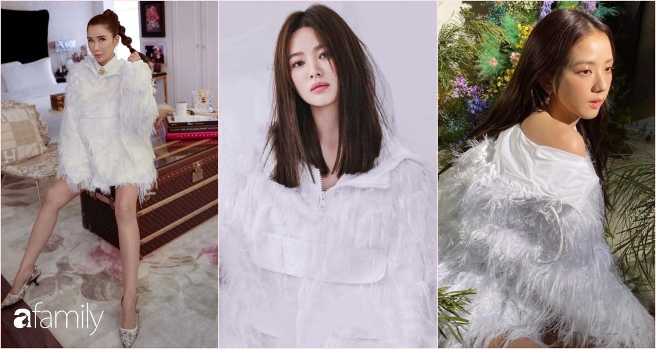 """""""Bà hoàng Hermès"""" đối đầu trực tiếp với Song Hye Kyo và Jisoo, chứng minh """"bức ảnh tỏa ra mùi tiền"""" là có thật - Ảnh 7."""