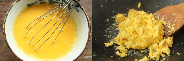 Trứng xào rau củ - Ảnh 2.