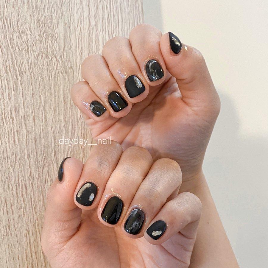 10 kiểu nail đơn giản các chị em có thể tự làm ở nhà mà cũng sang -  xịn - mịn vô cùng - Ảnh 8.