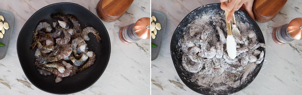 Tôm chiên giòn xóc muối tiêu - nhâm nhi thì hao tôm mà làm món mặn thì hao cơm - Ảnh 2.