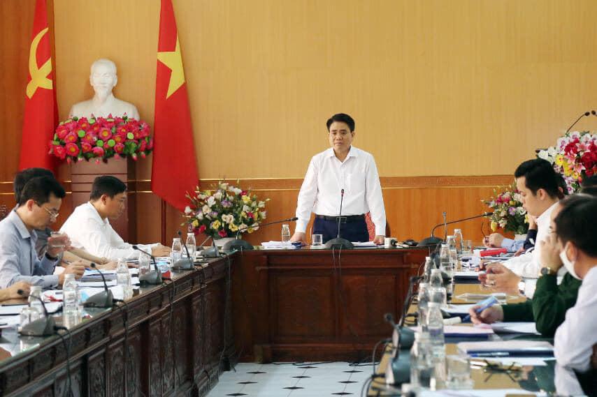 Chủ tịch Hà Nội: Dự đoán thêm 20 ca dương tính là khoa học, không phải con số vu vơ - Ảnh 1.