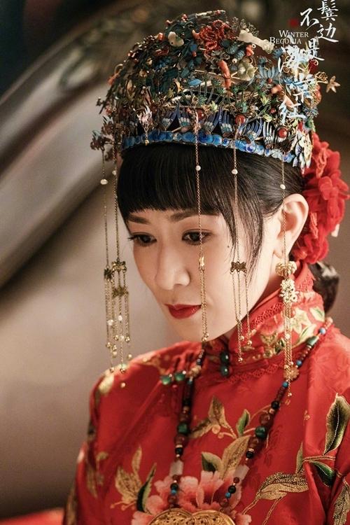 """""""Bên tóc mai không phải Hải Đường Hồng"""": Lộ cảnh động phòng ngượng đỏ mặt của Xa Thi Mạn - Huỳnh Hiểu Minh - Ảnh 2."""
