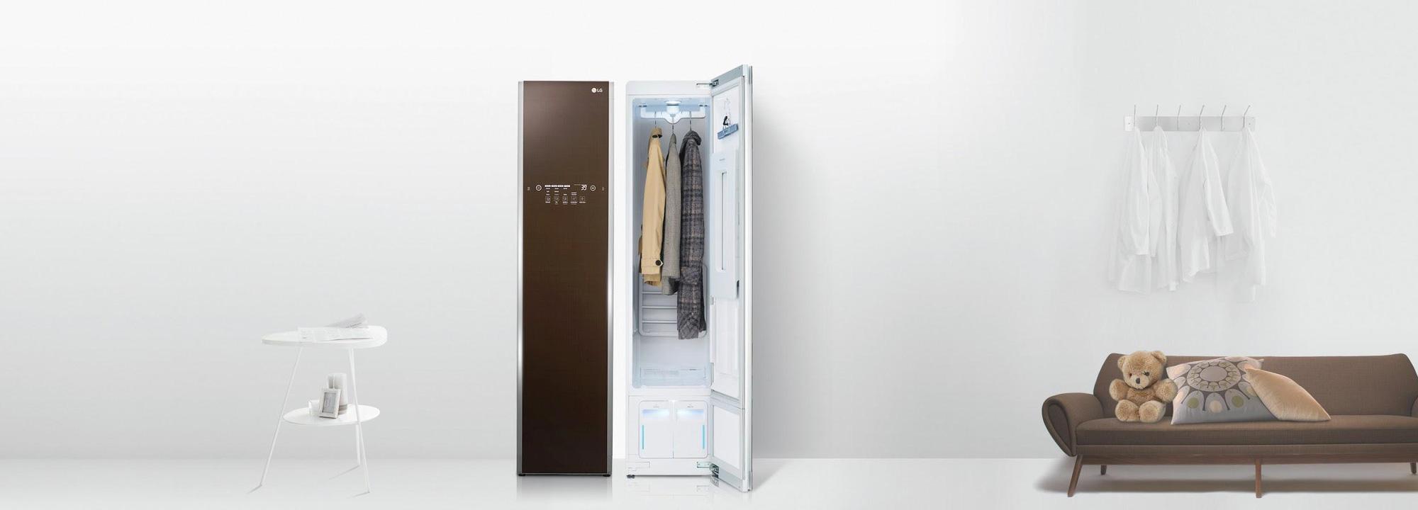 LG Styler khử khuẩn trang phục, bảo vệ không gian sống trong mùa dịch bệnh - Ảnh 1.