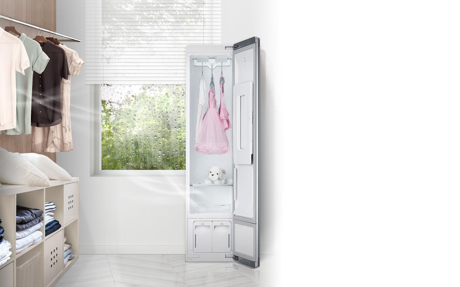 LG Styler khử khuẩn trang phục, bảo vệ không gian sống trong mùa dịch bệnh - Ảnh 5.