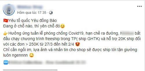 """Kinh doanh mùa dịch Covid-19: """"Cái khó ló cái khôn"""", một loạt shop chuyển qua bán hàng online, cam kết sẽ làm hài lòng các """"thượng đế"""" - Ảnh 2."""