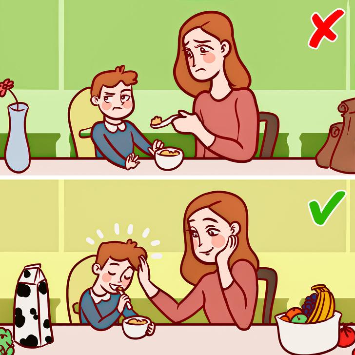 """Nếu muốn được phong là """"mẹ đảm"""", thì mẹ nên học thuộc lòng những việc nên và không nên làm với con sau đây - Ảnh 2."""