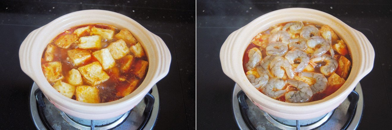 Đậu phụ nấu tôm dễ làm ngon cơm - Ảnh 4.