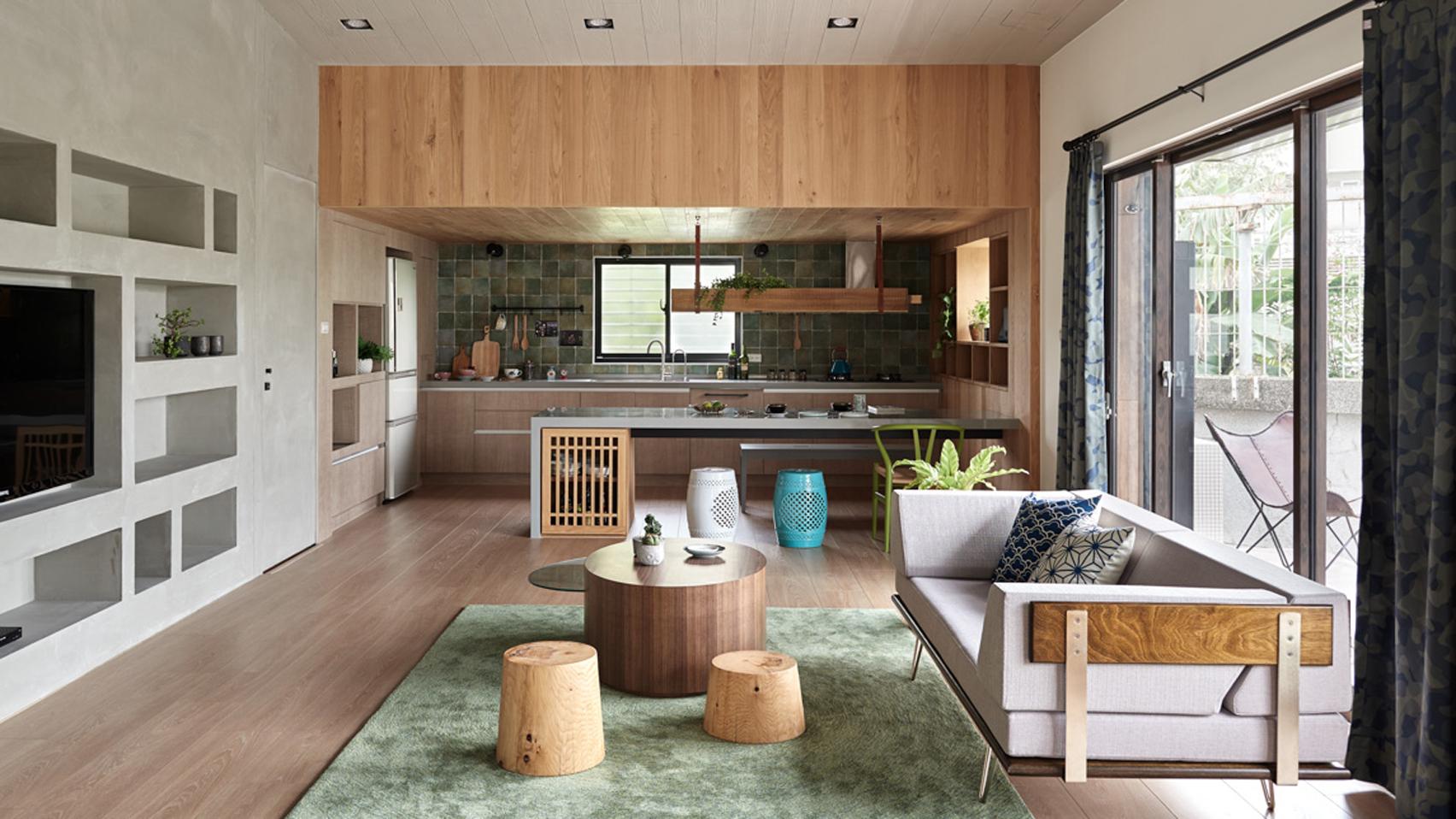 Cải tạo ngôi nhà ở Đài Loan với điểm nhấn vào khu vườn đẹp mê mẩn - Ảnh 3.