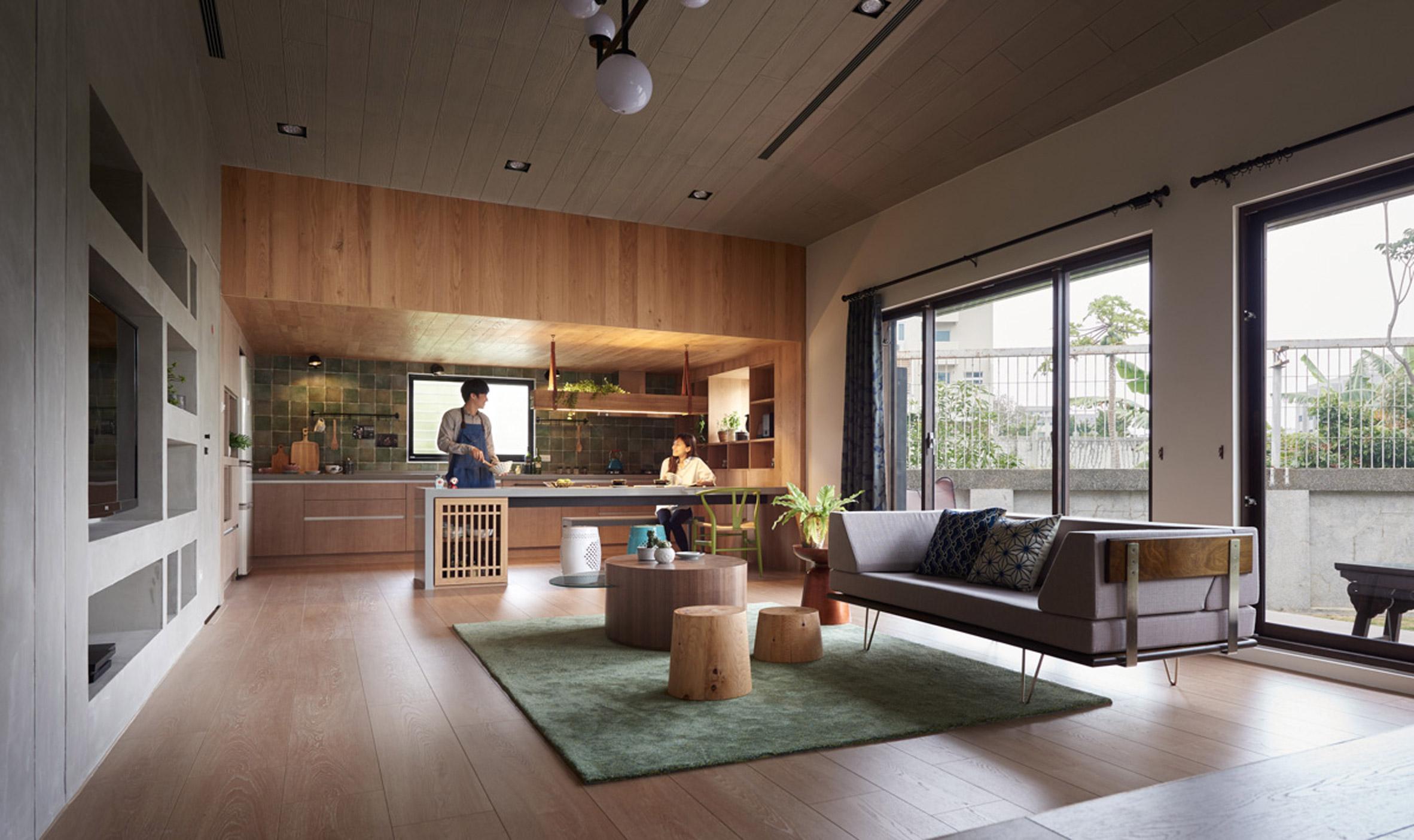 Cải tạo ngôi nhà ở Đài Loan với điểm nhấn vào khu vườn đẹp mê mẩn - Ảnh 2.
