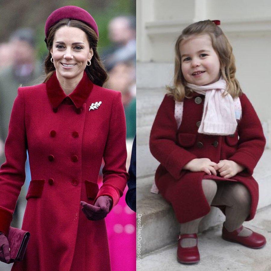 Style hoàng gia là thế nào, nhìn mối tương quan giữa mẹ con Công nương Kate – Công chúa Charlotte là rõ - Ảnh 1.