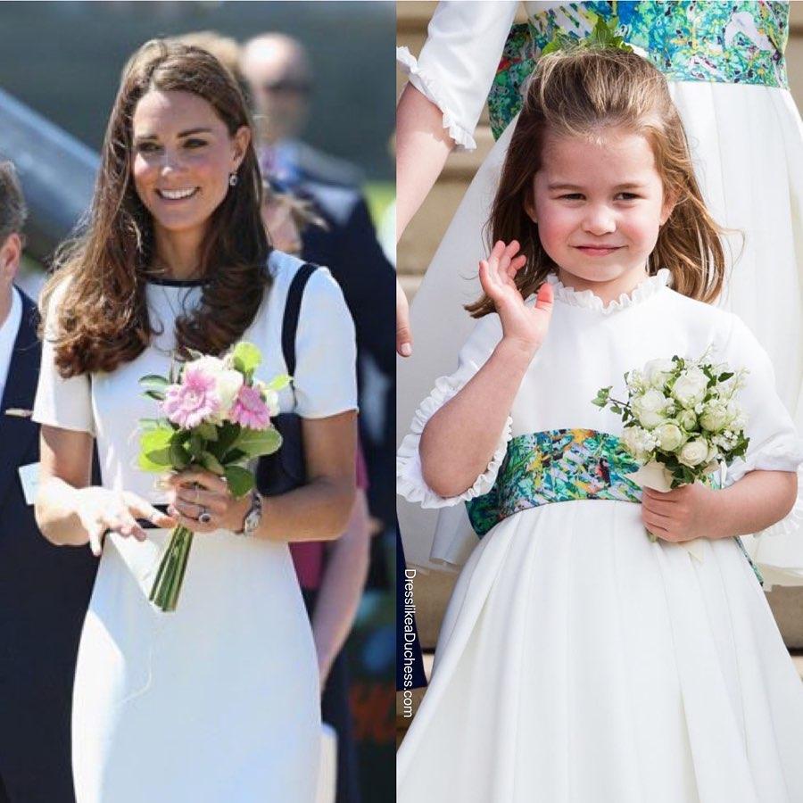 Style hoàng gia là thế nào, nhìn mối tương quan giữa mẹ con Công nương Kate – Công chúa Charlotte là rõ - Ảnh 3.