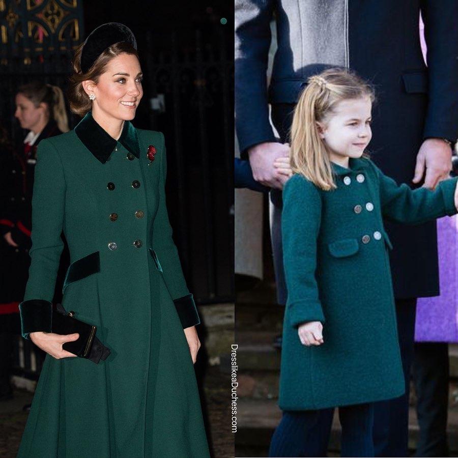Style hoàng gia là thế nào, nhìn mối tương quan giữa mẹ con Công nương Kate – Công chúa Charlotte là rõ - Ảnh 2.